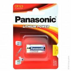 Μπαταρία Λιθίου Panasonic Lithium Power CR123 3V